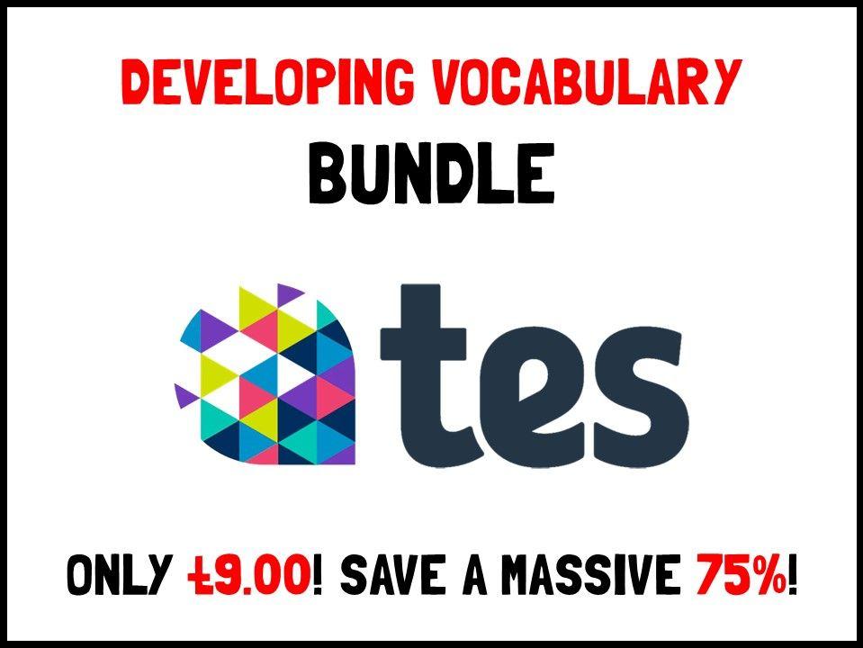 Developing vocabulary bundle