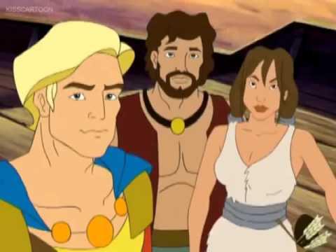 Jason and the Argonauts character identification activity.