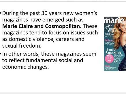 Representations of Femininity