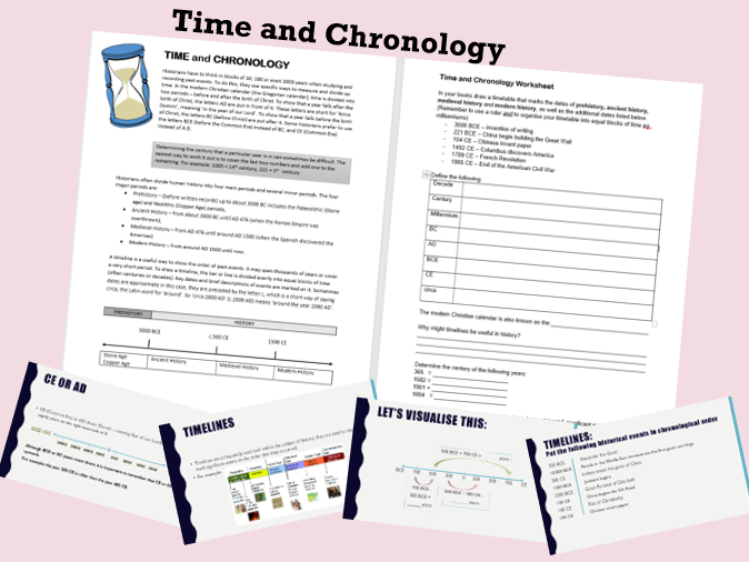 Timelines and Chronology