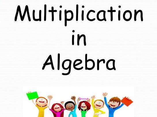 Algebra - Multiplication