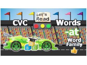 CVC Words Video | consonant vowel consonant | Word Family -AN | CVC Words for Kindergarten