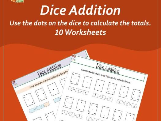 Dice Addition (Early Years Maths)