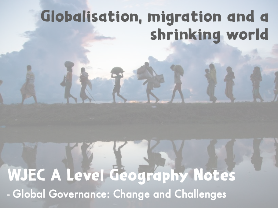 Global Governance: Change and Challenges PP 1 (A Level Geography)
