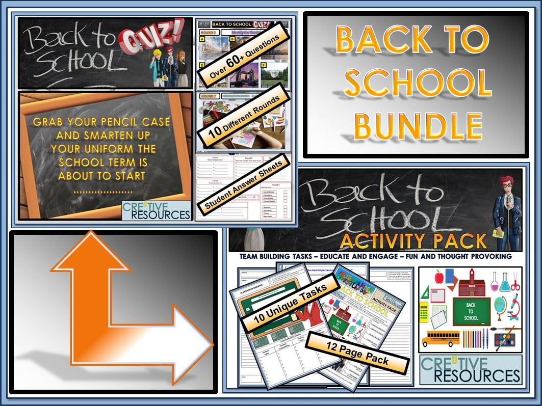 Back to School: Back to School Bundle