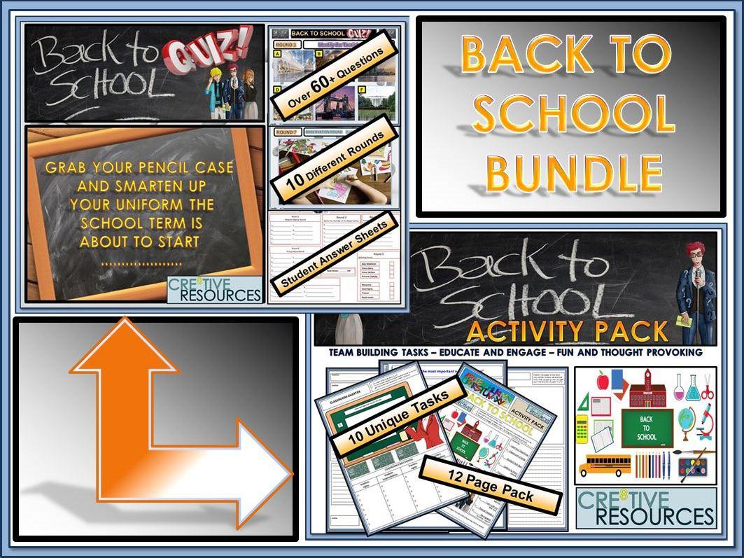 Back to School: Back to School Bundle