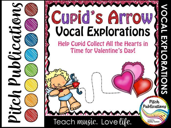 Valentine's Day Vocal Explorations - Cupid's Arrow Create + Compose Your Own