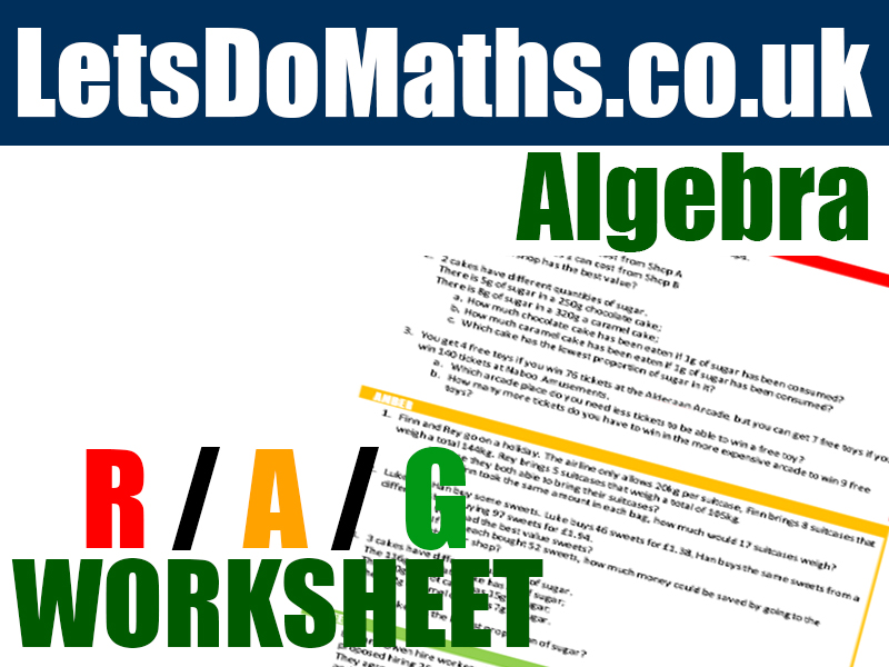 Algebra - Solving equations with Area