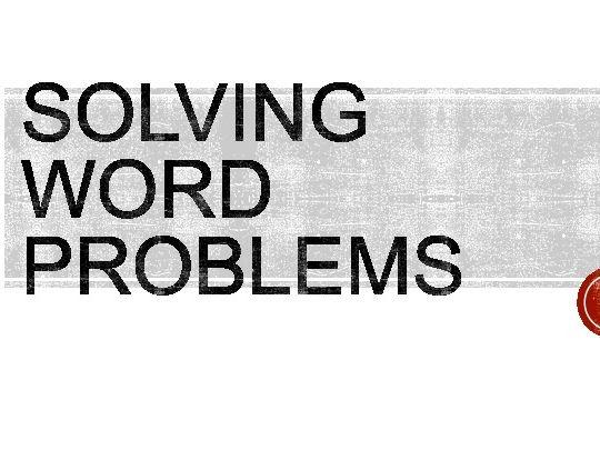 Problem Solving: Bar Modelling (Decimals)