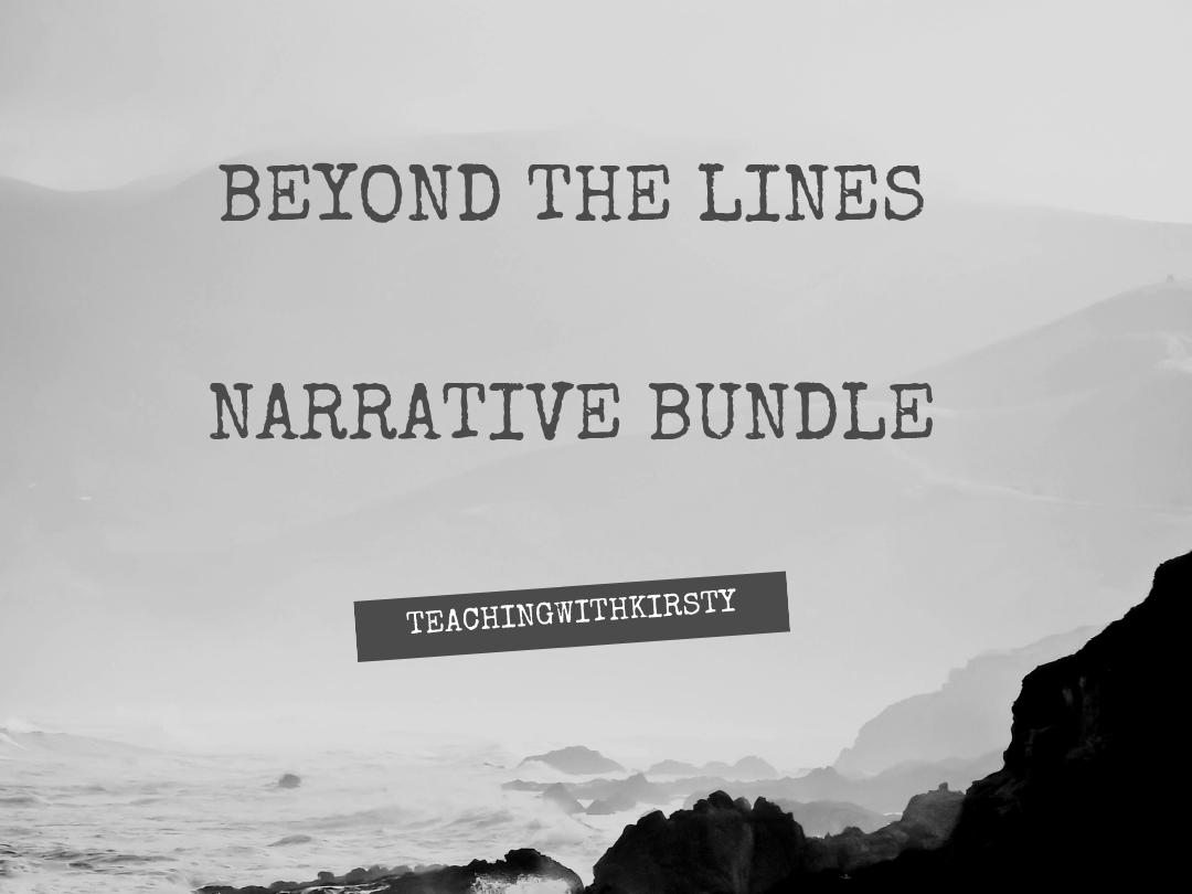 Beyond the Lines Literacy Shed Narrative Bundle