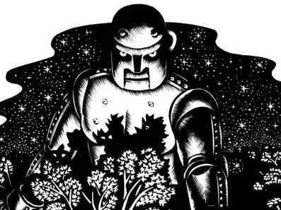 Iron Man - Ted Hughes Plans and Resources