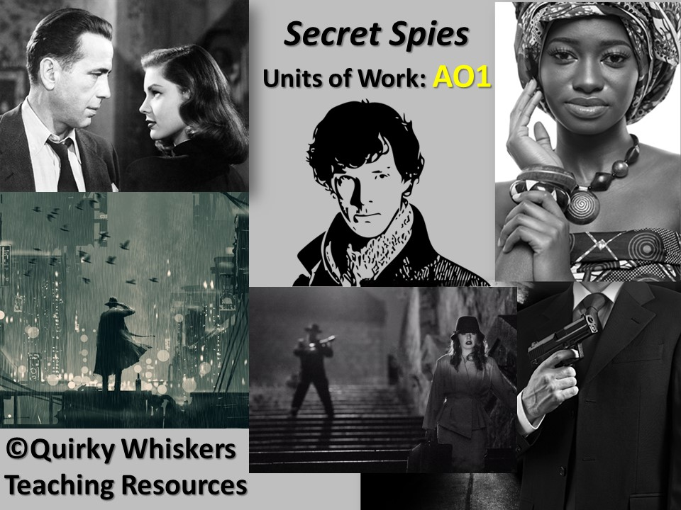 AQA Step Up to English Gold AO1 LESSONS Component 2 Secret Spies