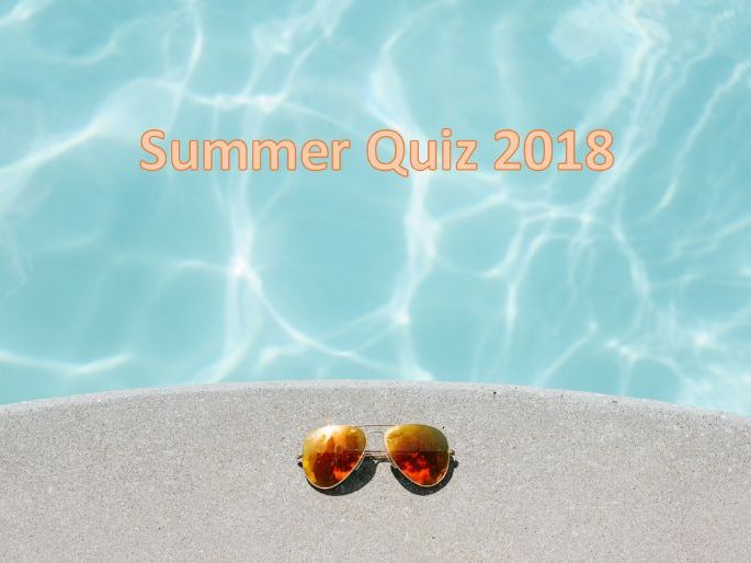 Summer End of Term Quiz