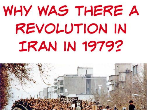Why was there a revolution in Iran in 1979?