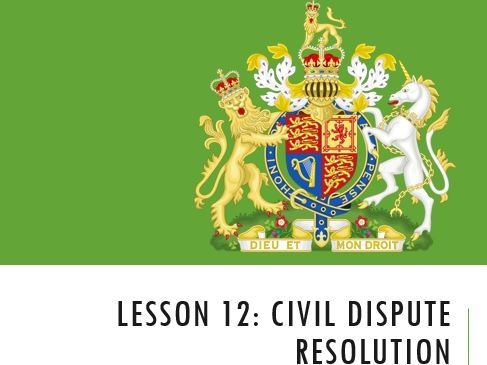 ELS - Civil Dispute Resolution