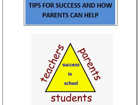 GCSE Guide for Parents Booklet