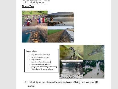 KS3 Flooding End of Unit Assessment