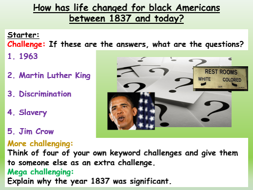 Black History Overview