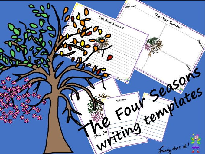 Seasonal Changes – The Four Seasons Planning and Writing Templates