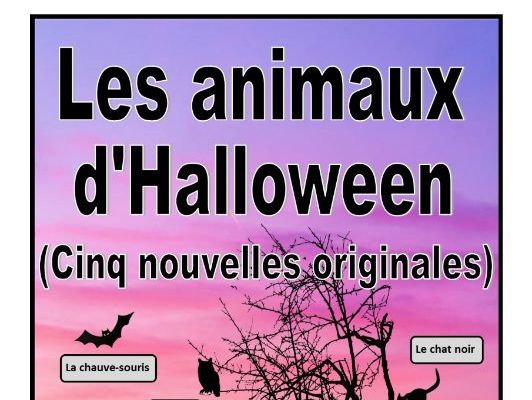 Five French Halloween One Page Stories