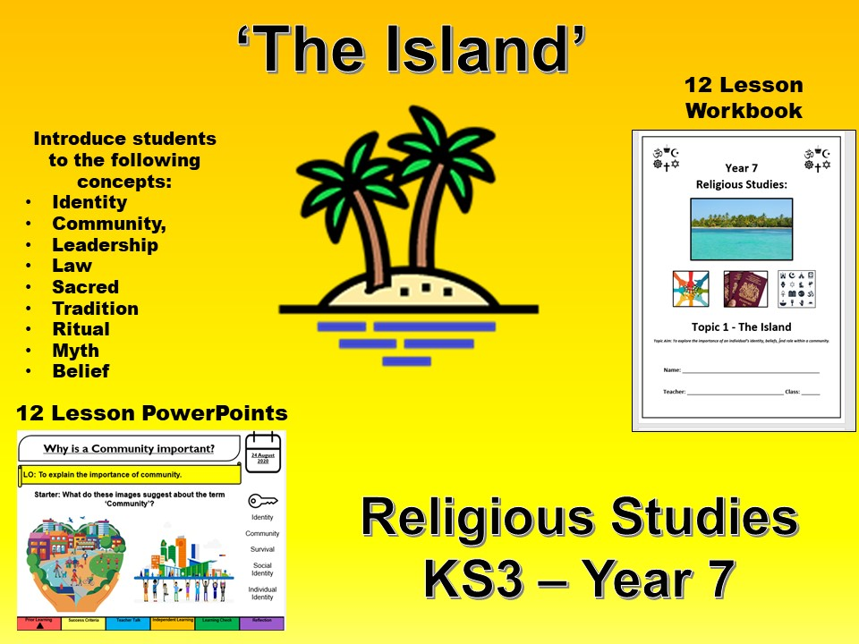 The Island Full SOW Workbook and PP