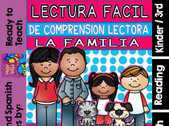 Easy Readings in Spanish - The Family