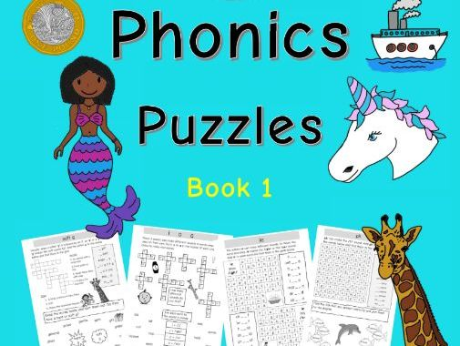 Phase 5 Phonics Puzzles: Book 1