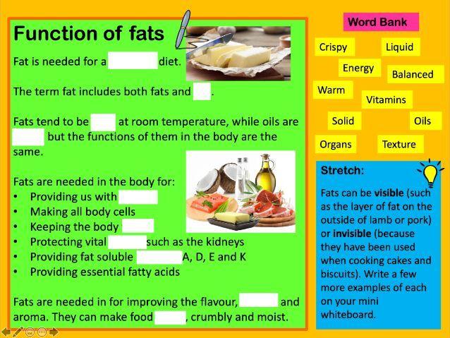 Nutrition: Fats