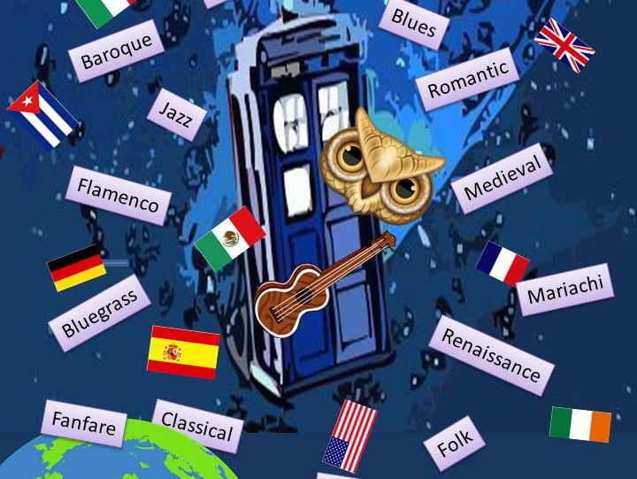 Twenty ukulele solos: around the world and through the centuries