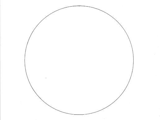 Circle: Shapes Colouring Page