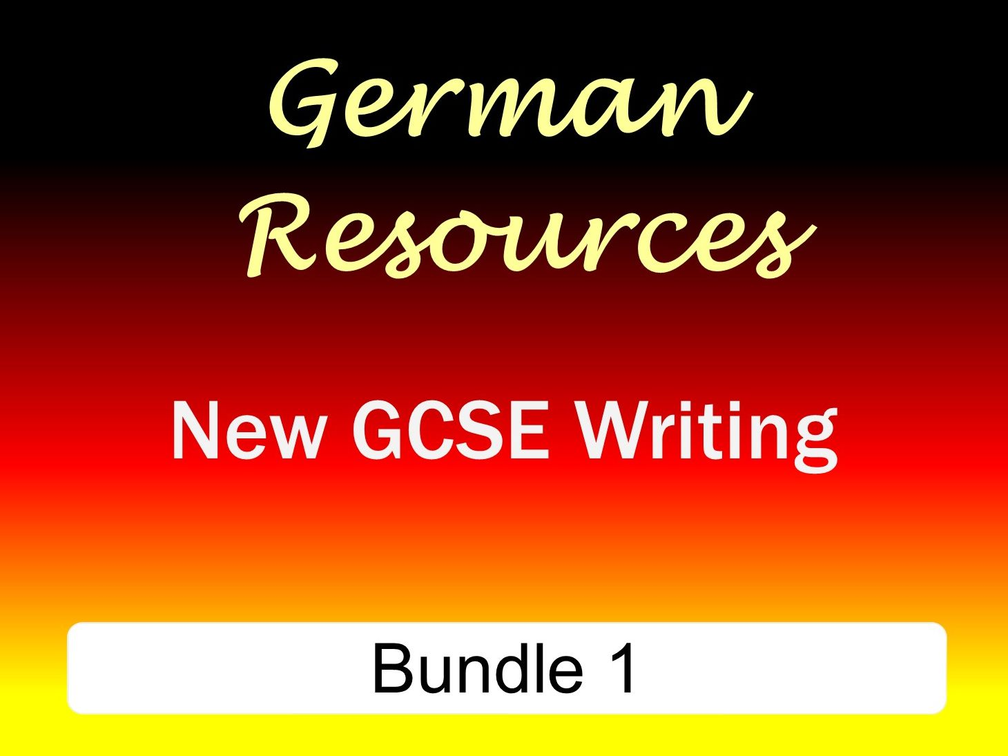GCSE - Exam Style Writing Bundle