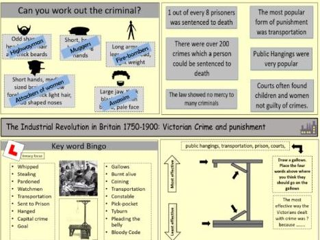 The Industrial Revolution: Victorian crime and punishment