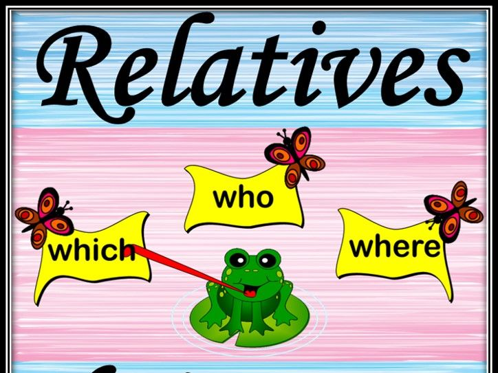 Relatives. Choice game.