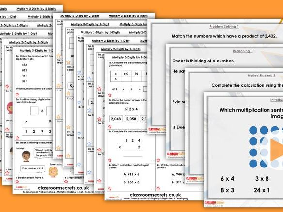 Year 4/5 Mixed Age Spring Block 1 Step 3 Maths Lesson Pack