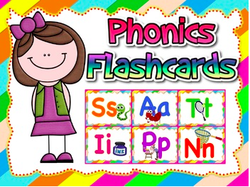 Jolly Phonics Flashcards (Complete set).