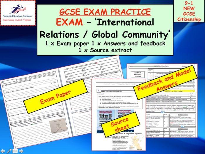 9=1 GCSE CITIZENSHIP ASSESSMENT - EXAM