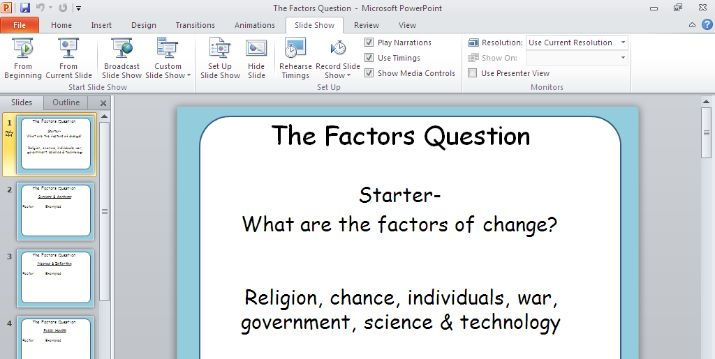 AQA Medicine Through Time Revision- How to answer a factors question