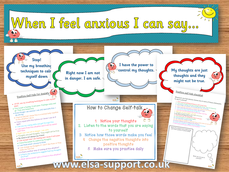 Positive Self-talk for anxiety and worries