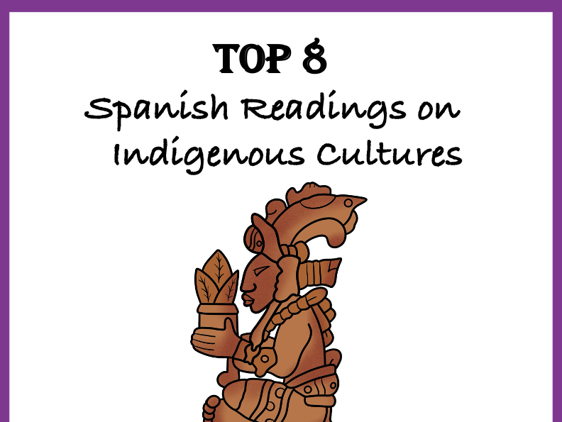 Spanish Reading Bundle: Indigenous Cultures: TOP 8  Lecturas @40% off!