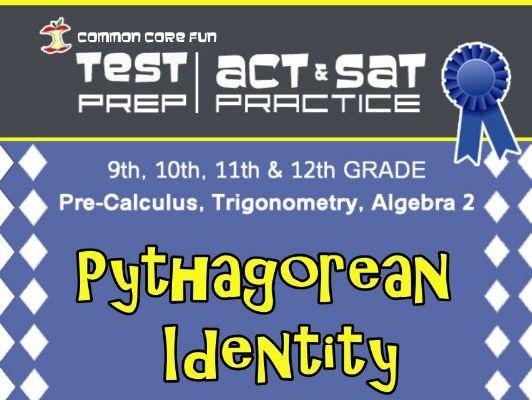 Pythagorean Identity Test Prep