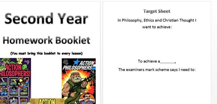 Second Year Homework Pack