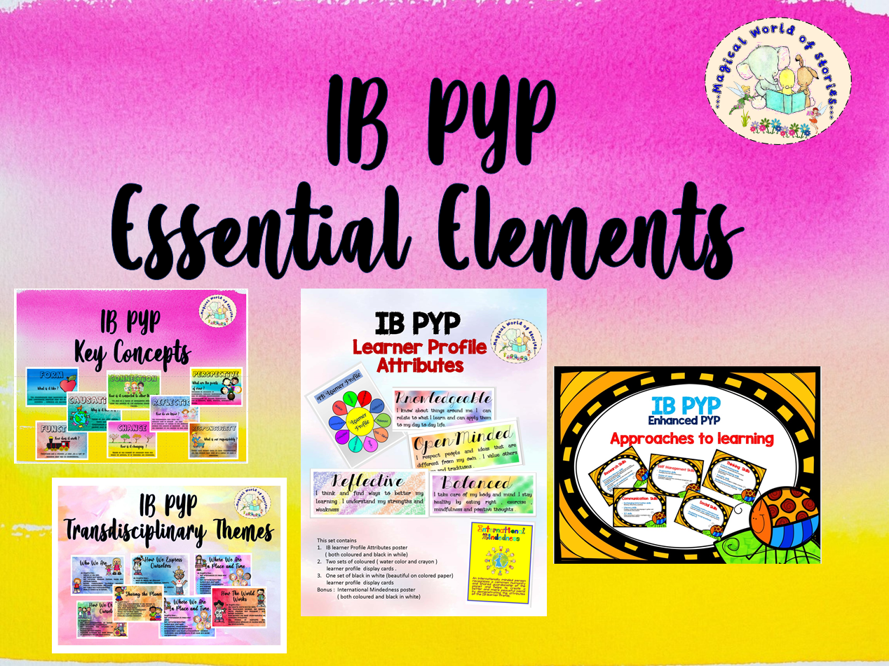 IB PYP Back to school Bundle