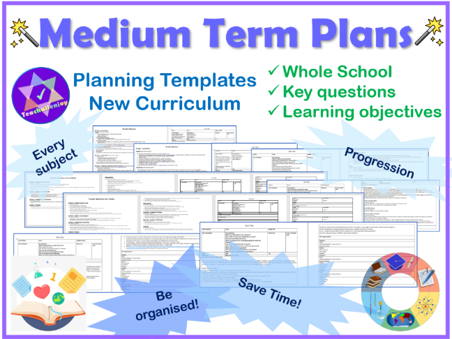 Medium Term Plan Templates