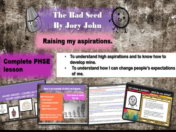 High aspirations and growth mindset - Complete PHSCE lesson KS2