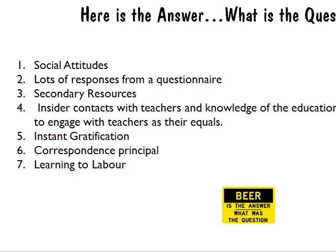 New AQA Spec(81921)  GCSE Sociology PowerPoint with Model Answers (To show after their Mock)