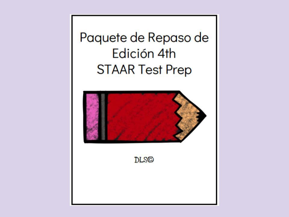 STAAR Paquete de repaso de Edición - 4to grado