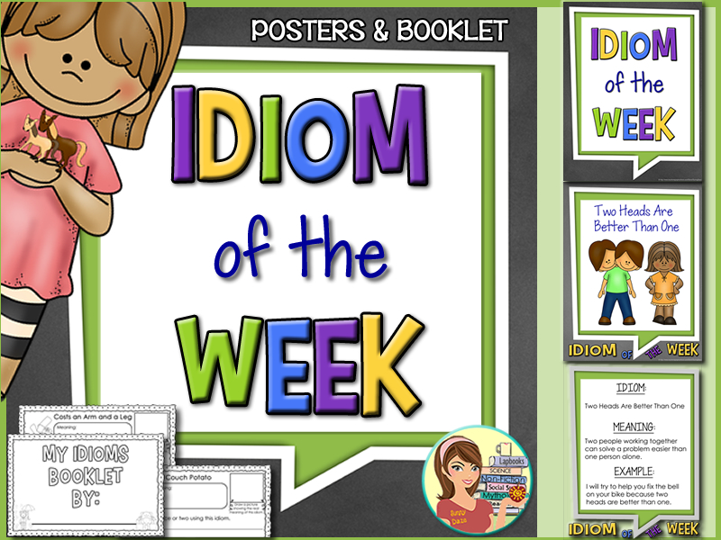 Idiom of the Week (posters & booklet)
