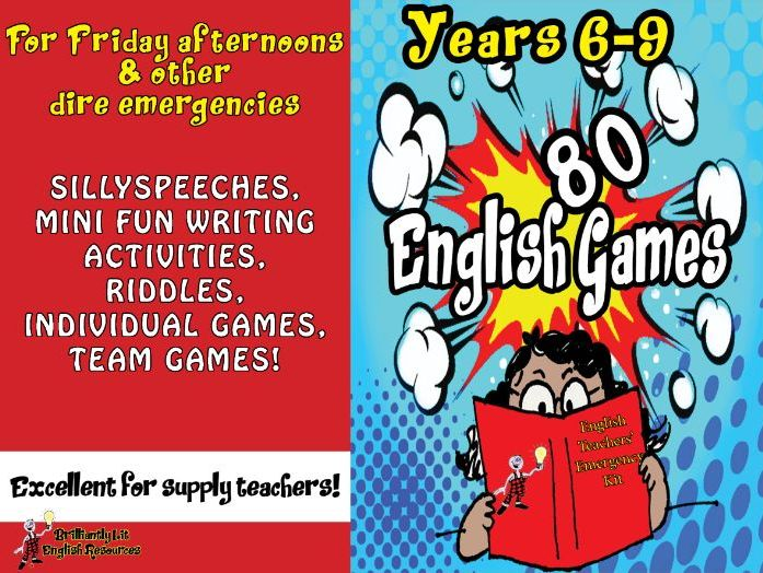 English Games & Fun Activities Years 6-9