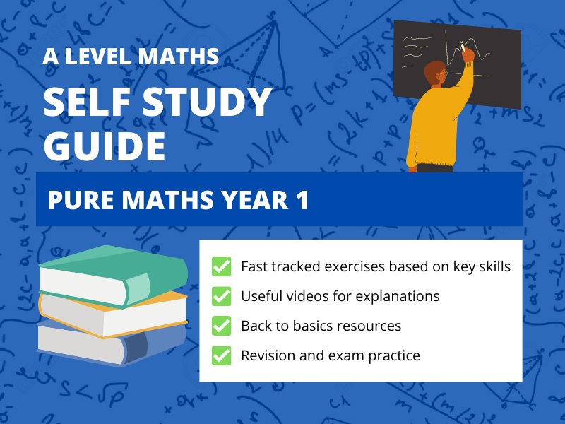A Level Maths Pure 1 Self Study Guide