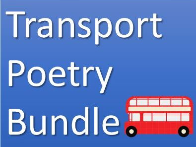 Transport Poetry Bundle